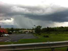 A downpour in Northboro.