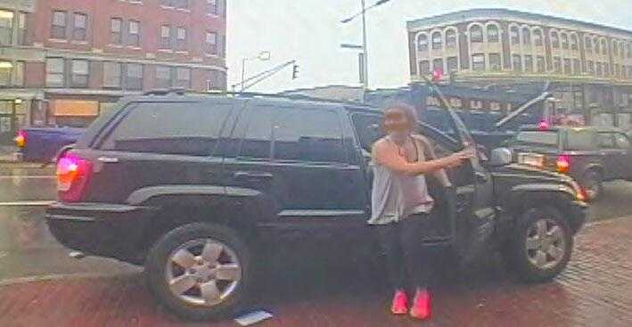 Boston police say she was kidnapped and forced to go to five ATMs.