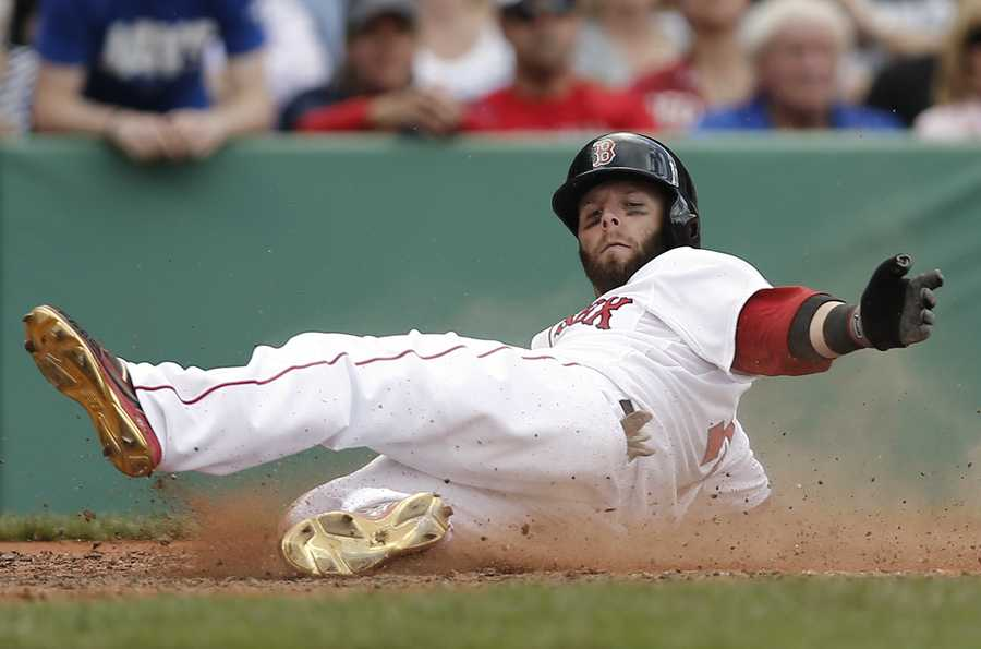 In three years at ASU, Pedroia played in 185 games, never hit below .347, and had a career average of .384.