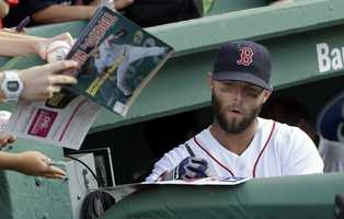 Pedroia became the regular second baseman for the Red Sox in 2007 replacing Mark Loretta.
