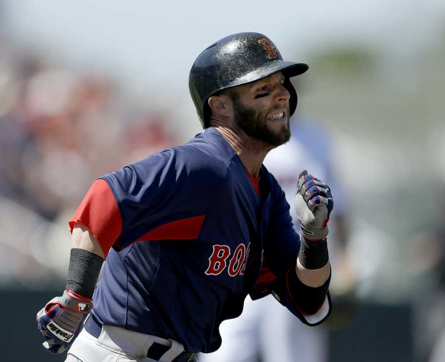 Pedroia has multiple nicknames, these include: Pedey, Laser Show, and the Muddy Chicken.