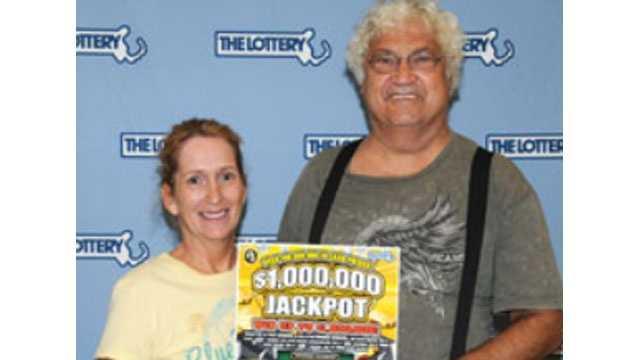 Lottery winners trashed ticket