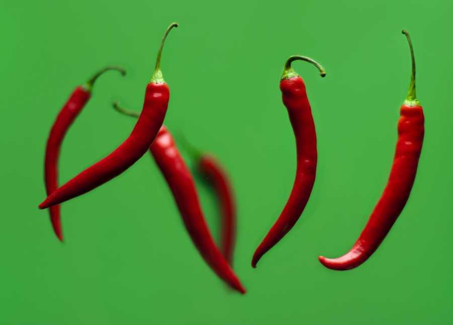 Red pepper or black pepper have a stimulatory effect.