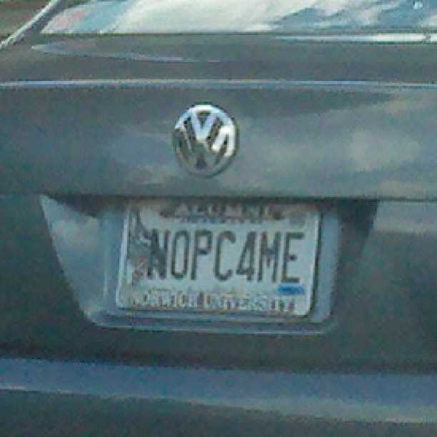 NOPC4ME - So does this person not have a computer, or are they not politically correct?