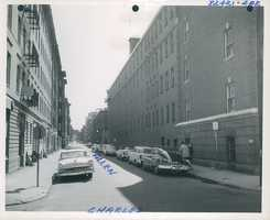 Charles and Allen Streets between 1958 and 1964.