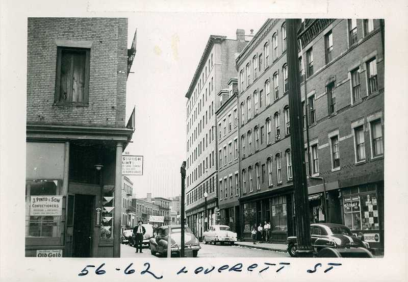 Leverett Street between 1958 and 1960