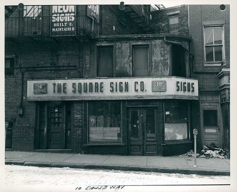 10 Causeway Street in 1959