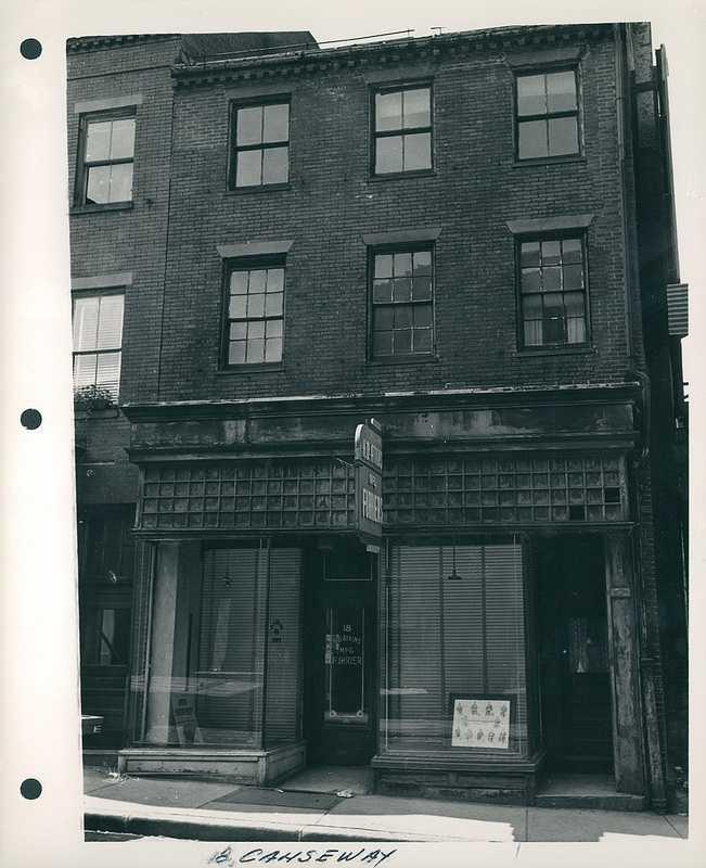 18 Causeway Street in 1959