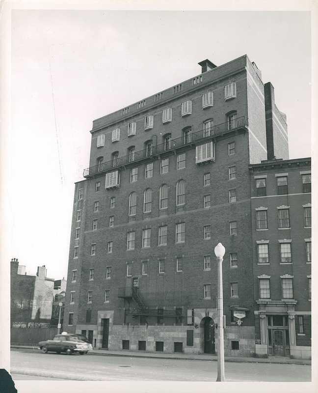 Elizabeth Peabody House, Charles Street, circa 1952