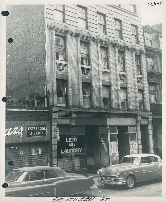Green Street circa 1958