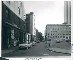 Howard Street circa 1958
