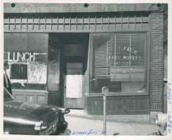 Staniford Street in 1958
