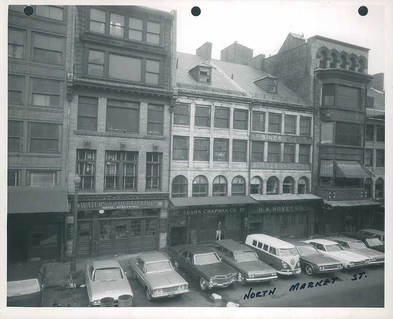 North Market Street in 1966