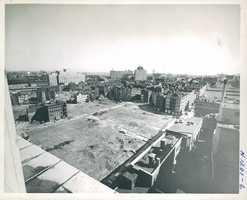 Unidentified location in West End, near Massachusetts General Hospital, in 1959