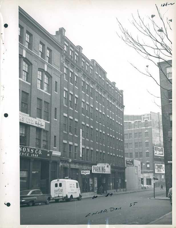 80-84 Chardon Street in 1958