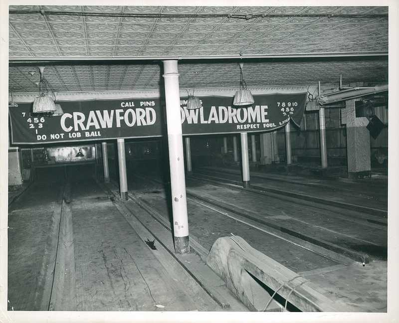 Crawford Bowladrome about 1958