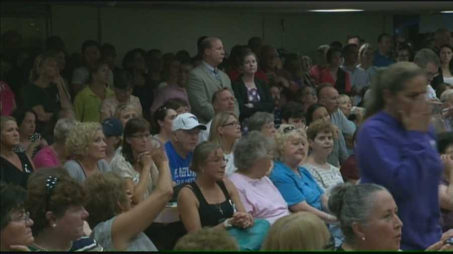 South Boston residents gather as police address their safety concerns.