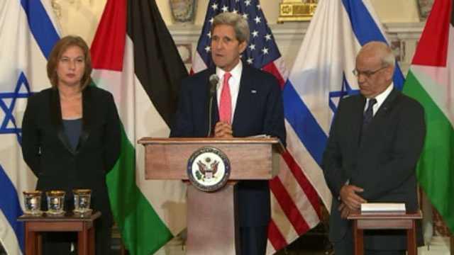 Kerry, Mideast peace talks