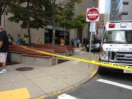 Two people, including a deputy sheriff, have been injured in a shooting at Massachusetts Eye and Ear Infirmary on Wednesday, according to Boston police.