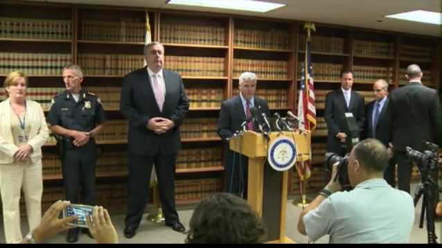 DA Dan Conley announced on Aug. 1 that Alemany would be charged first-degree murder in Lord's death.