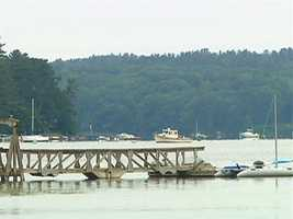 Residents say living in Damariscotta is like living in a picture postcard.