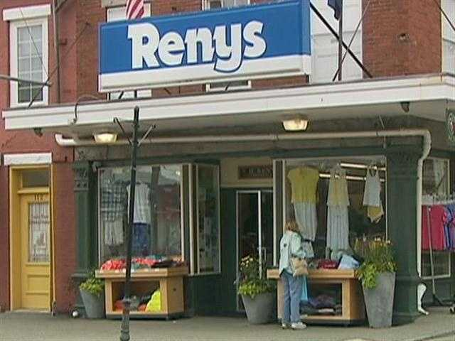 Another icon, Renys, is one of Maine's best-known discount department stores.