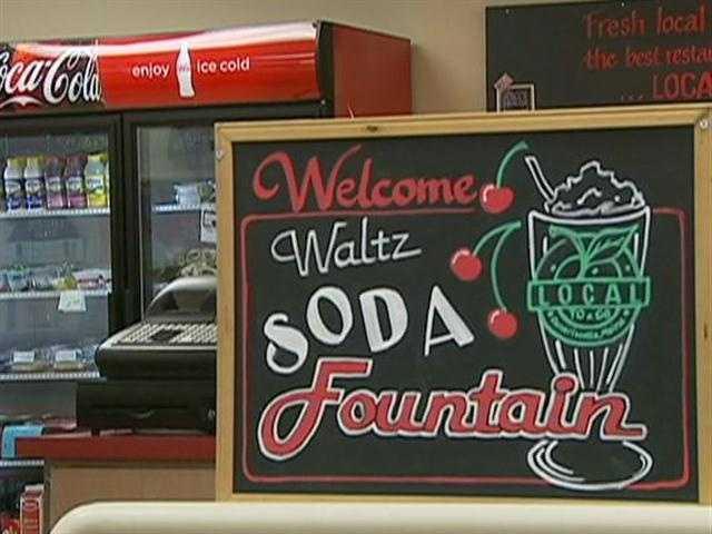 Waltz Pharmacy opened in 1948.