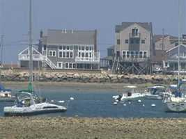 In Scituate, you can take a cruise on a schooner.