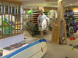 The now iconic Nor-Easter Surf Shop has been a surf and skate destination for 25 years.