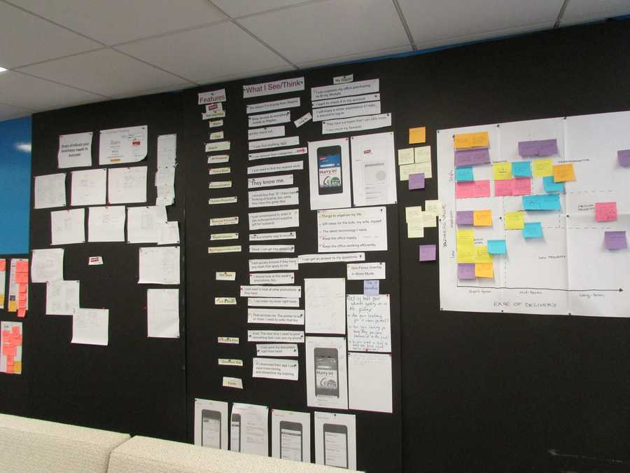 The mobile production team wants to make sure their app is simple clean, and has bigger text.