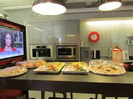 A family-style kitchen at the Velocity Lab