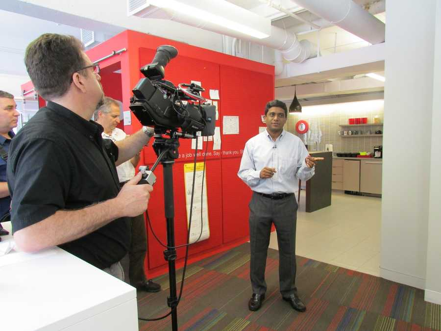 One of the Velocity Lab's innovators explains the plans for the mobile app