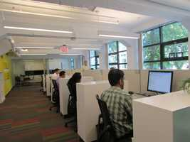 There are about 50 full-time employees at the Velocity Lab