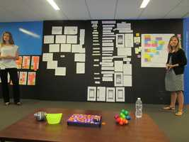 These storyboards help organize the plans and goals for the new mobile experience