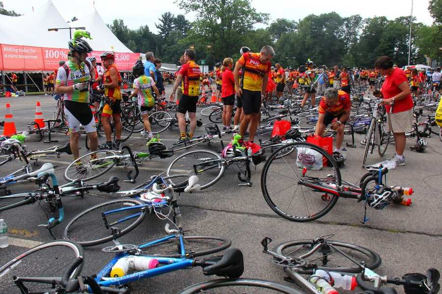 Thousands of bikers will travel hundreds of miles on their bikes, all to raise money for cancer research.