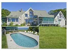 50 Bay Shore Drive is on the market in Plymouth for $1.59 million.