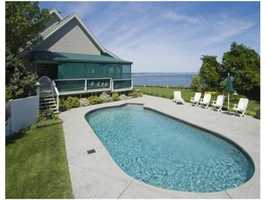 You can see the ocean from your pool!