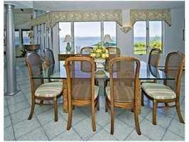 A dining area.