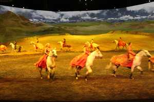 The stars have also performed Odysseo in other parts of Canada, Mexico and across the U.S.
