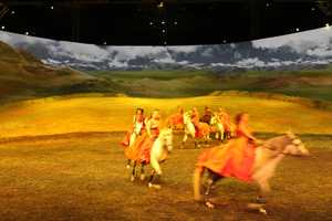 Benjamin Aillaud, equestrian director and choreographer, has been with Cavalia since 2009.