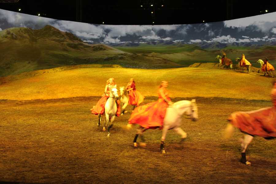 Guillaume Lord is the set designer for Cavalia's Odysseo.