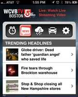 You'll also get the local headlines of the morning from WCVB.com.  Download the app now for iOS and Android.