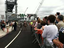 A ceremony was held on Thursday to open the new Memorial Bridge connecting Kittery to Portsmouth, N.H. Click through to see pictures of the new bridge.