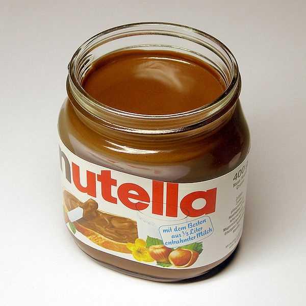 3.) Nutella