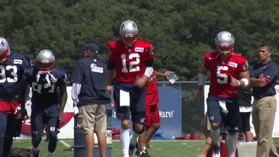 After a scare Wednesday, Tom Brady returned to New England Patriots practice on Thursday.