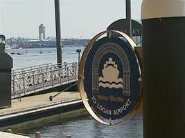 If you're going to Boston's Logan Airport, consider boarding a water taxi.