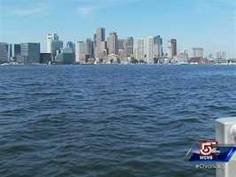 A first look at Boston's skyline can create a lifelong water taxi fan.