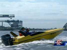 ...Speedboats...