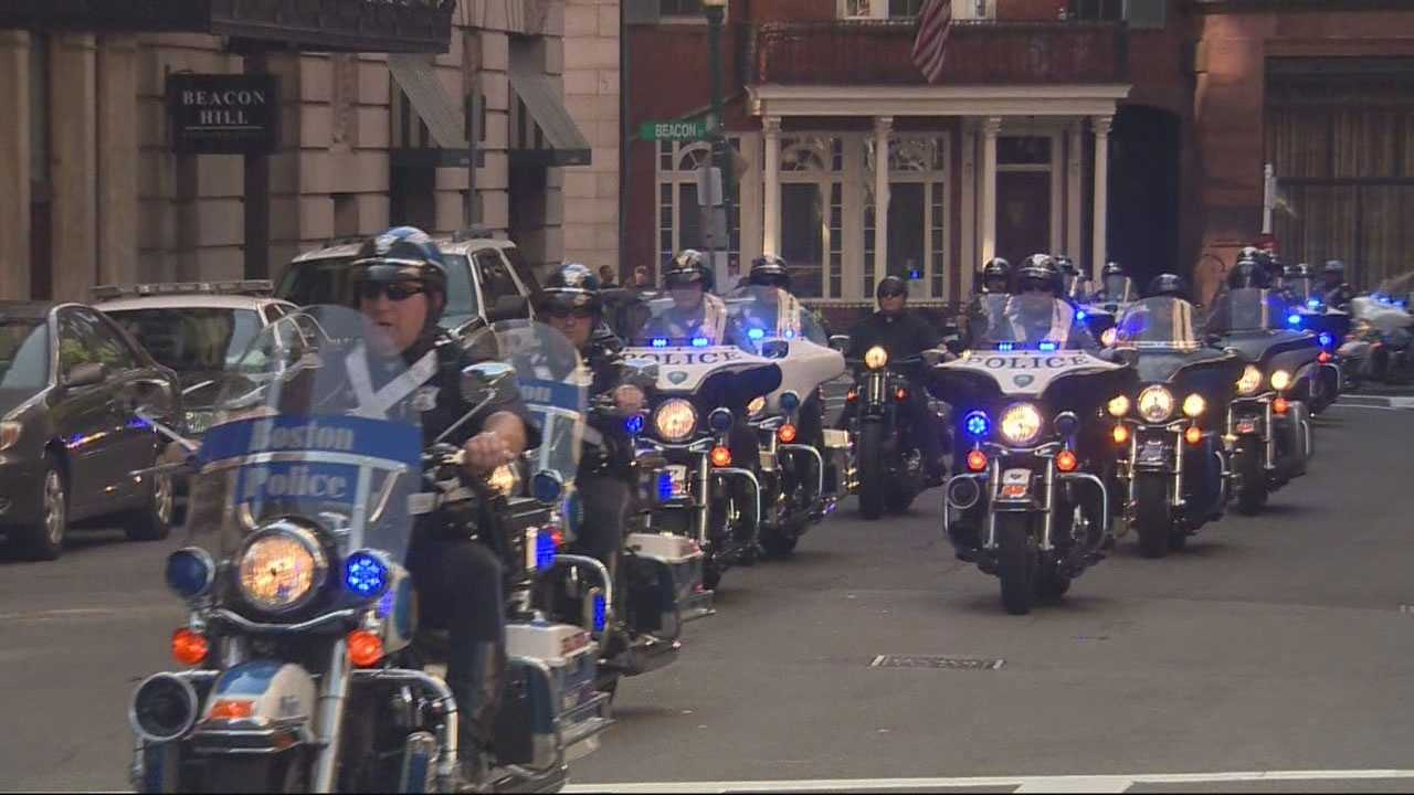 The event, put on by Ride4Cops, raised $50,000 for fallen officers.