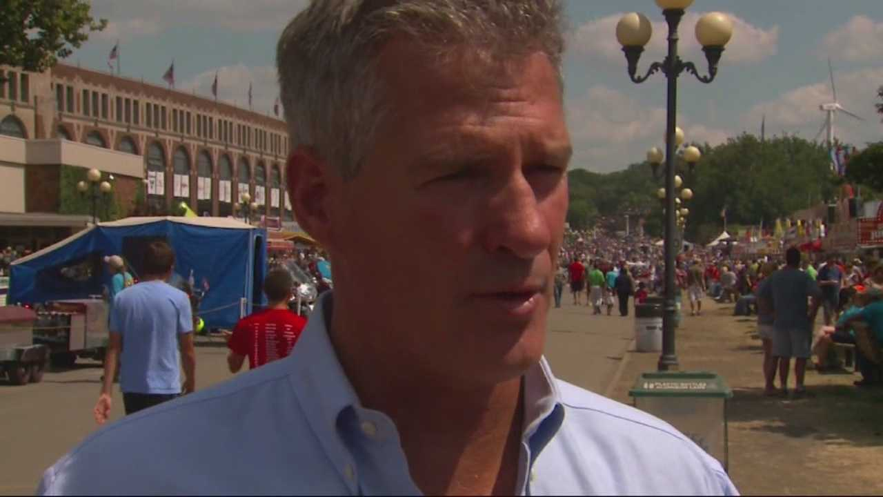 Former Sen. Scott Brown is mulling a presidential run.